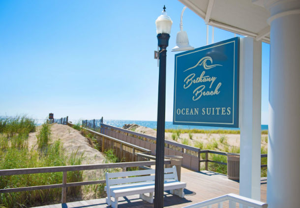 beach view of Bethany Beach Ocean Suites